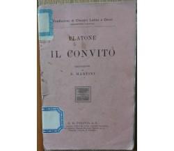 Il convito - Il convito - G.B. Paravia,1922 - R