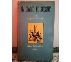 Il diario di Scesny di Igor Newerly,  1955,  Cultura Sociale-F
