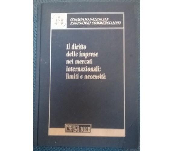 Il diritto delle imprese nei mercati internazionali .. - Il Sole 24ore, 2003- L