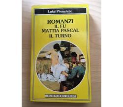 Il fu Mattia Pascal - Il turno - Luigi Pirandello,1995, Luigi Reverdito - V