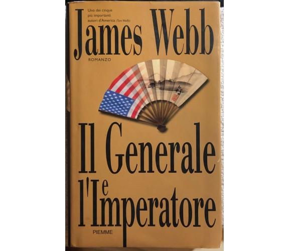 Il generale e l'imperatore di James Webb,  2000,  Piemme