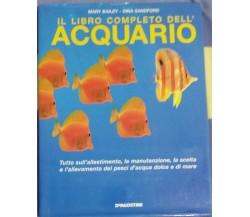 Il libro completo dell'acquario - AA. VV. - De Agostini - 2007 - G