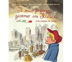 Il mio primo giorno in Italia e mi scappa la cacca… Aa Vv 2020,  Lo Stampatello