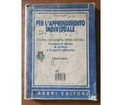 Il mio sussi 3 + per l'apprendimento individuale - AA. VV. - Fabbri - 1995 - AR
