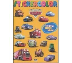 Il mondo di Cars. Stickercolor. Con adesivi - Aa.vv.,  2009,  Walt Disney Ed