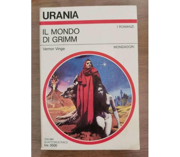 Il mondo di Grimm - V. Vinge - Mondadori - 1987 - AR