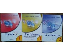 Il numero Vol.1,La geometria Vol.2 - AA.VV. - CEDAM,2005 - R