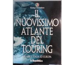 Il nuovissimo atlante del Touring - 2 volumi - Gruppo Ed. L'Espresso - 1975 - G