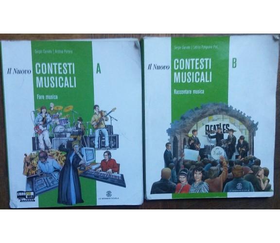 Il nuovo contesti musicali Vol AeB-SergioCervato,AndreaPortera-Le Monnier,2015-R