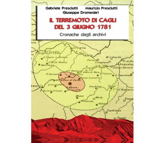 Il terremoto di Cagli del 3 giugno 1781 - Dromedari, Presciutti, Presciutti,  20