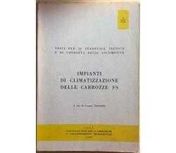 Impianti di climatizzazione delle carrozze FS di Evaristo Principe, 1980, CIFI