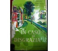 In caso di disgrazia di Simenon,  1958,  Mondadori