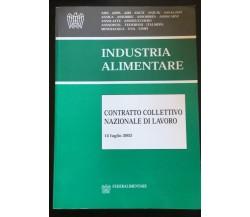 Industria Alimentare contratto collettivo nazionale di Lavoro- Vari - P