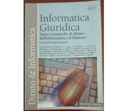 Informatica giuridica - Giorgio Rognetta - Edizioni Simone,2001 - A