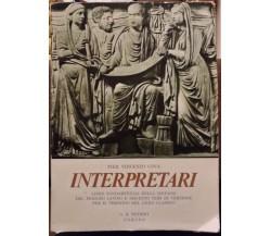 Interpretari - Pier Vincenzo Cova,1968 ,G.b.petrini - 1968 - S