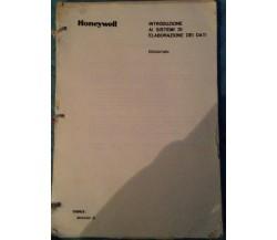 Introduzione ai sistemi di elaborazione dei dati - AA.VV - Honeywell - 1980 - MP