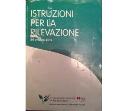 Istruzioni per la rilevazione - AA.VV. Mannelli - 2010 - M