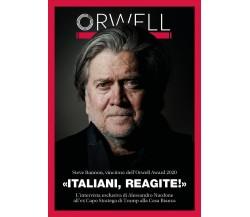«Italiani, reagite!» Intervista a Steve Bannon - Alessandro Nardone,  2020,  You