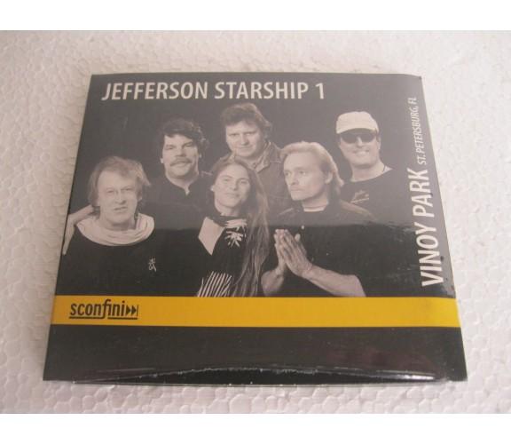 JEFFERSON STARSHIP 1 Vinoy Park, St. Petersburg, FL (2003) CD DIGIPACK NUOVO