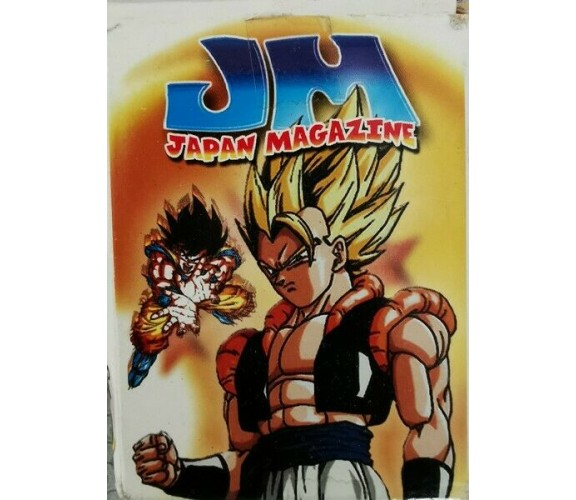 Japan Magazine - set carte francesi con personaggi anime - ER