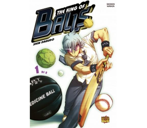 KING OF BALLS 1 di Shin Darudo (autore),  2020,  Manga Senpai