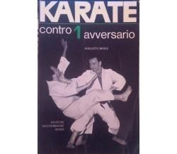 Karate contro 1 avversario-Augusto Basile,1965,Edizioni Mediterranee Roma - S