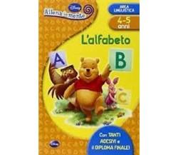 L' alfabeto. Con adesivi -  Walt Disney,  2010 - Walt Disney Company  -  C