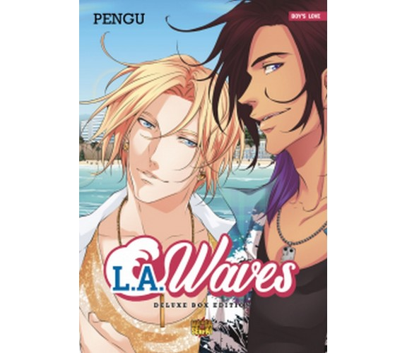 L.A. WAVES cofanetto completo deluxe di Pengu (autore),  Manga Senpai