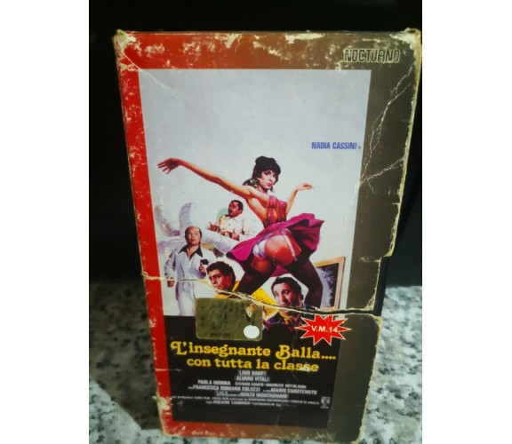 L'INSEGNANTE BALLA CON TUTTA LA CLASSE (1979) - Vhs - F