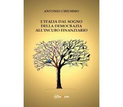 L'Italia dal sogno della democrazia all'incubo finanziario  - Antonio Chiummo