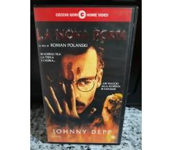 La Nona Porta Vhs Johnny Depp - 1999 -Cecchi Gori