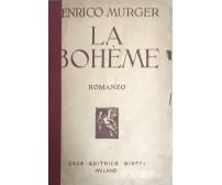 La bohème - Enrico Murger (1935,  Bietti Milano) Ca