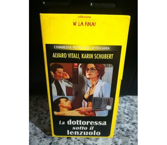 La dottoressa sotto il lenzuolo VHS - 1976 - F
