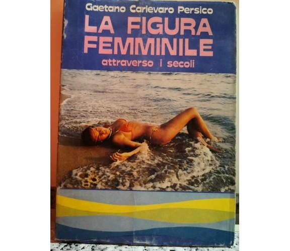 La figura femminile di Gaetano Carlevaro Persico,  1981,  Pozzetto-F