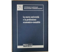 La nuova università e la professione economico-sociale (Sole 24 ore 2003) - ER