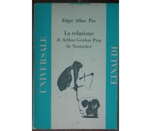 La relazione di Arthur Gordon Pym da Nantucket-Edgar Allan Poe-Einaudi,1945-A