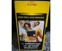 La soldatessa alle grandi manovre (1978) VHS - F