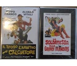 La soldatessa alle grandi manovre - Il tifoso l'arbitro e il calciatore - DVD