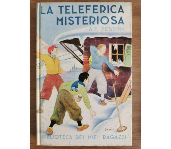 La teleferica misteriosa - A.F. Pessina - Salani - 1988 - AR
