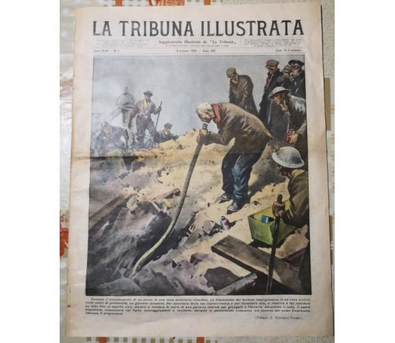 La tribuna illustrata Anno XLII n°1 di A.a.v.v,  1935,  La Tribuna-F
