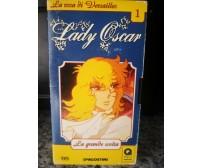 Lady Oscar 1 la grande scelta - vhs- DeAgostini  2001 - F