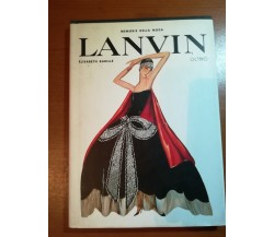 Lanvin - Elisabeth Barille - Octavo - 1998   - M