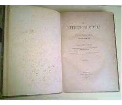 Le Istituzioni Civili di Giustiniano - Corradino Garajo - 1880, Palermo - L