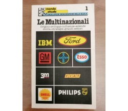 Le Multinazionali - AA. VV. - BUR - 1977 - AR