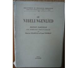 Le Nibelungenlied - Colleville, Tonnelat - Aubier Editions Montaigne,1948 - R