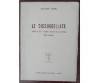 Le dissuggellate - Salvatore Cutino - Convivio letterario, 1960 - A