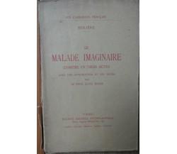 Le malade imaginaire - Molière - Società Editrice Internazionale,1925 - R