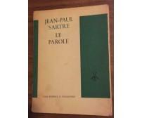 Le parole- Jean-paul Sartre,  1964,  Casa Editrice Il Saggiatore - P