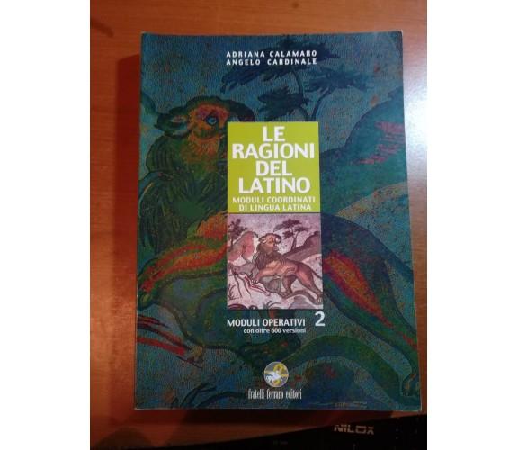 Le ragioni del latino - A.Calamaro , A.Cardinale - Ferraro - 2005 - M