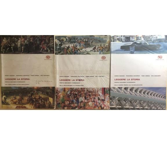 Leggere la storia 2A+2B+3B di Aa.vv., 2007,  Einaudi Scuola